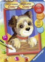 Ravensburger Schilderen op nummer Yorkshire pup