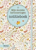 Notitieboek mijn mooiste herinnering