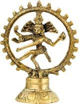 Shiva Nataraja Messing (15 cm)