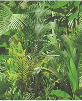 Dutch Wallcoverings schuimvinyl jungle - groen