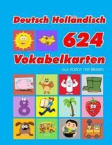 Deutsch Holl�ndisch 624 Vokabelkarten aus Karton mit Bildern: Wortschatz karten erweitern grundschule f�r a1 a2 b1 b2 c1 c2 und Kinder