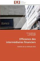Efficience Des Interm�diaires Financiers
