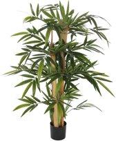 Mica Decorations bamboe maat in cm: 100 x 60 in plastic pot