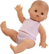Paola Reina Gordi Babypop Blank Meisje met ondergoed