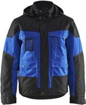 Blåkläder 4886-1977 Winterjas Korenblauw/Zwart maat S
