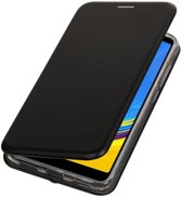 Zwart Slim Folio Case voor Samsung Galaxy A7 2018