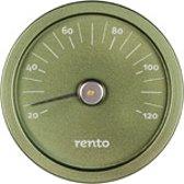 Rento Aluminium Thermometer groen