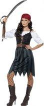 Voordelig piraten kostuum voor dames 36-38 (S)