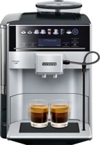 Siemens TE653311RW EQ6 Plus - Volautomatische espressomachine - Zilver