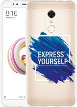 Xiaomi Redmi 5 Plus Hoesje Express Yourself