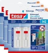 Tesa Smart Mounting verstelbare Klevende Spijker tegels & metaal 3 kg 3 stuks