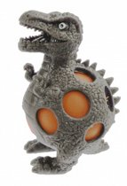 Johntoy Squeezy Dino - Lambeosaurus 10 Cm Grijs