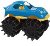 Free And Easy Speelgoedauto Monstertruck Blauw 12 Cm