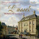 Dussek: Sonatas Op.9 & Op.75, Vol. 6