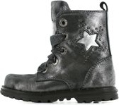 Shoesme Dessert Meisjes biker boot - Zilver - Maat 25