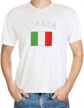 Italie t-shirt met vlag L