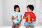 Snapper Rock UV werend Zwemshirt Kinderen korte mouwen - Rood - Maat 116-122