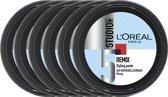 L'Oréal Paris Studio Line Special FX Remix Styling Paste - 6 x 150 ml - Voordeelverpakking