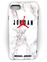 Jordan telefoonhoesje (casie) - iPhone 7/8 Plus - Wit