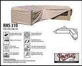 Beschermhoes L-vormige hoekbank RHS310 310 x 310 x 100 H: 70 cm taupe
