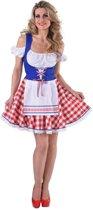 Hollandse Tiroler jurk - Maatkeuze: Maat XS