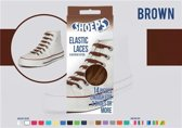 Shoeps Elastische Veters Bruin