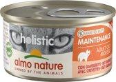 Almo Nature Natvoer voor Katten- Holistic Maintenance Mousse - 24 x 85g - Garnalen