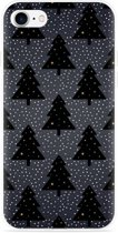 iPhone 7 Hoesje Snowy Christmas Trees