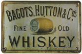 Signs-USA Whiskey - Retro Wandbord - Metaal - 30x20 cm