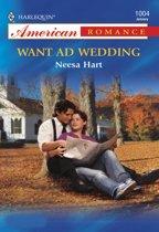 Want Ad Wedding (Mills & Boon American Romance)