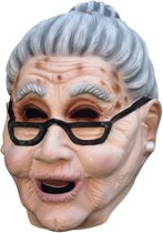 """""""Grootmoedersmasker voor volwassenen - Verkleedmasker - One size"""""""