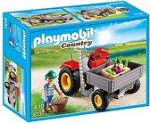 Playmobil Country: Tractor Met Laadbak (6131)