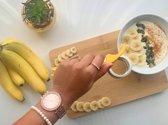 Bananen snijder - Bananensnijder - Keukenapparaat -  Gadget - Ergonomisch - Scherp