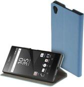 Blauw slim booktype flipcover Sony Xperia Z5 Premium hoesje