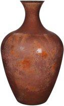 Mica Decorations olivier glazen vaas terra maat in cm: 65 x 40
