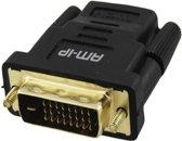 DVI naar HDMI adapter Gold Plated 24+1