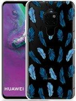 Huawei Mate 20 Hoesje Feathers