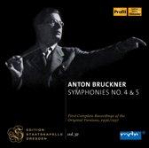Bruckner: Symphonies 4+5