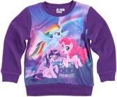 My Little Pony Fleece-sweatshirt-paars - Maat 116