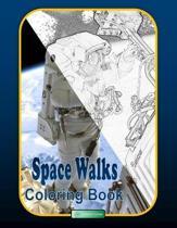 Space Walks Coloring Book