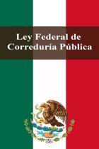 Ley Federal de Correduría Pública