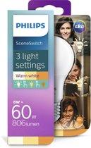 LED SSW 60W A60 E27 WW FR ND 1BC/4