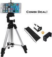 Smartphone / iPhone Tripod Camera Statief - Universeel Reis Statief / Travel Balhoofd Driepoot Mount