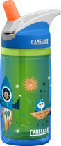 CamelBak Eddy Kids Insulated - Drinkfles - 400 ML - Groen (Blue Rockets)