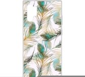 Design Backcover Samsung Galaxy Note 10  Plus hoesje - Pauw Goud