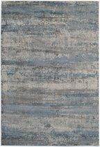 Modern tapijt in blauw en grijs - 160 x 230 cm