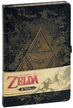 Legend Of Zelda Triforce A5 Notitieboek - schrijfwaren voor school - Nintendo Merchandise