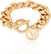 TOV Essentials - Small flat chain bracelet - Armband - Vlakke schakel - Goud