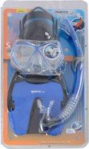 Mares Coral Pirate Set - Snorkelset - Kinderen - Maat 28-31 - Blauw