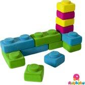 Rubbabu - Rubbablox bouwblokken basic
